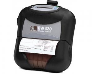 Nešiojamieji spausdintuvai Zebra RW 220/420
